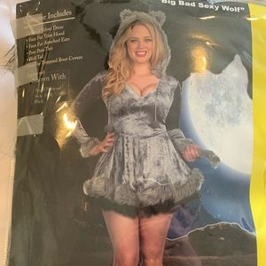 ***3 for $20*** Sexy wolf costume